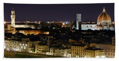 Firenze Skyline Beach Towel
