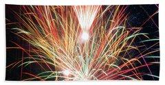 Fireworks One Beach Sheet