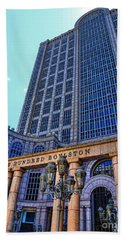 Five Hundred Boylston - Boston Architecture Beach Towel