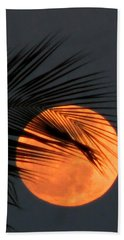 Florida Moonrise Beach Towel