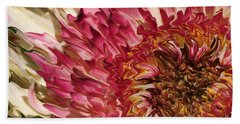 Flower Art Beach Towel