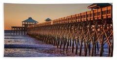 Folly Beach Pier Beach Sheet