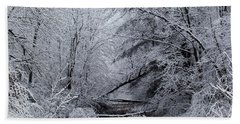 Forest Lace Beach Towel by Christian Mattison