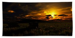 Forgotten Homestead... Beach Towel by Tim Fillingim