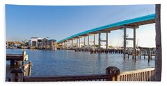 Fort Myers Bridge Beach Towel