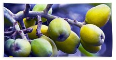 Sicilian Fruits Beach Sheet