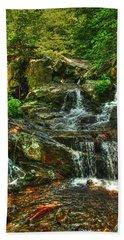 Gentle Falls Beach Towel by Dan Stone