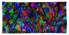 Get Busy Beach Towel by Kevin Caudill
