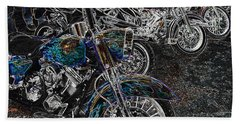 Ghost Rider Beach Towel