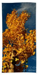 Gingko To The Sky Beach Towel