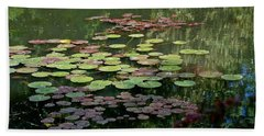 Giverny Lily Pads Beach Towel