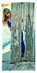 Glamour Peek Beach Towel