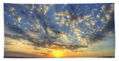 Glorious Sunrise Beach Towel by Jim And Emily Bush