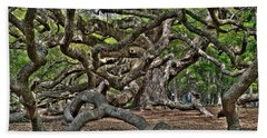 Gnarled Beach Towel