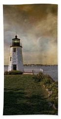 Goat Island Light Beach Sheet