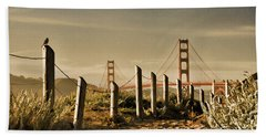 Golden Gate Bridge - 3 Beach Towel