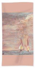 Golden Sails Beach Sheet