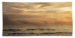 Golden Sea Beach Towel