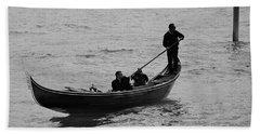 Beach Sheet featuring the photograph Gondola  by Eric Tressler