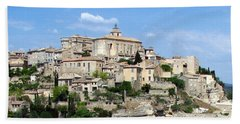 Beach Towel featuring the photograph Gordes In Provence by Carla Parris
