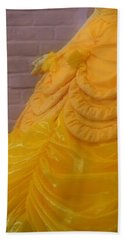 Gown Of A Princess Beach Towel by Bonnie Myszka