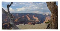 Grand Canyon Tree Beach Sheet