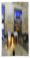 Beach Towel featuring the photograph Grand Central Station Italian Style by Andy Prendy