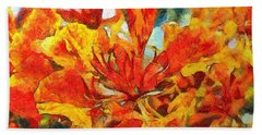 Gulmohar Beach Towel