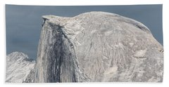 Half Dome From Glacier Point At Yosemite Np Beach Towel