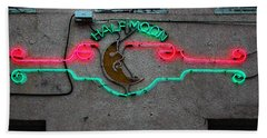 Half Moon Bar New Orleans Beach Sheet by Kathleen K Parker