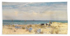 Harvesting The Land And The Sea Beach Towel