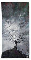 Haunted Tree Beach Towel