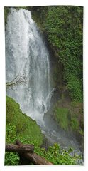Headwaters Peguche Falls Ecuador Beach Towel