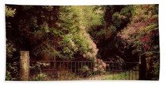 Beach Sheet featuring the photograph Hidden Garden by Marilyn Wilson