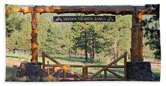 Hidden Meadow Ranch Beach Sheet