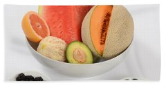 High Carbohydrate Fruit Beach Towel