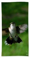 Hovering Hummingbird  Beach Sheet