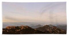 Huangshan Sunrise Panorama 2 Beach Towel
