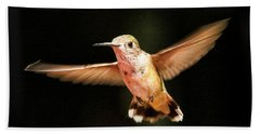Beach Towel featuring the photograph Hummingbird  by Albert Seger