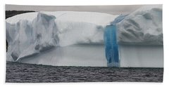 Iceberg Beach Towel by Eunice Gibb