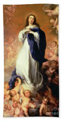 Immaculate Conception Of The Escorial Beach Towel