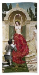 In The Venusburg Beach Towel by John Collier