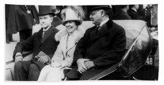 Inauguration Of President Calvin Coolidge - C 1925 Beach Towel