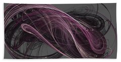 Beach Towel featuring the digital art Infinity by Kim Sy Ok
