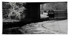 Beach Sheet featuring the photograph Infrared At Llangollen Canal by Beverly Cash