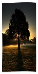 Inspirational Tree Beach Sheet