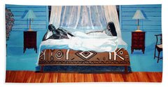 Intimate Reflections Beach Towel