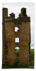 Ireland- Castle Ruins II Beach Towel