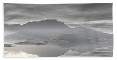 Beach Towel featuring the digital art Isle Of Serenity by Phil Perkins
