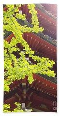 Japanese Tea Garden Beach Sheet by Cindy Garber Iverson